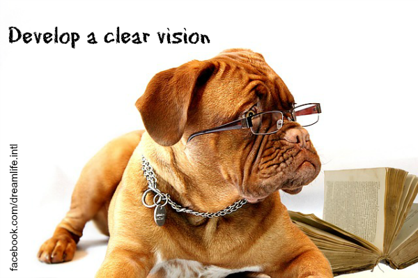 Develop a Clear Vision