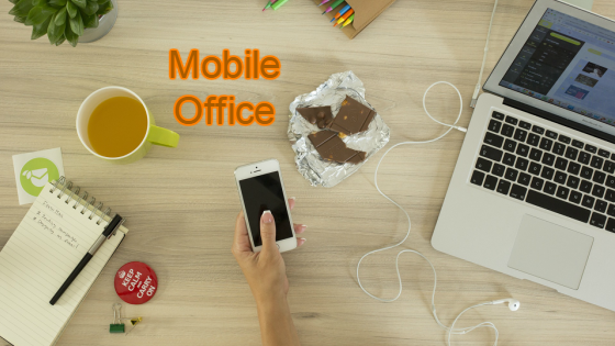 Think about creating a mobile office