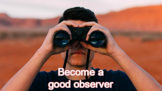 good observer