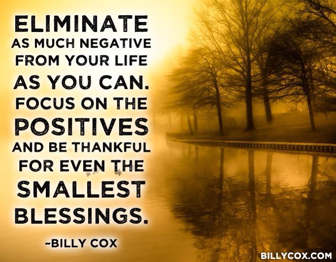 eliminate negative