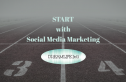 start with social media marketing