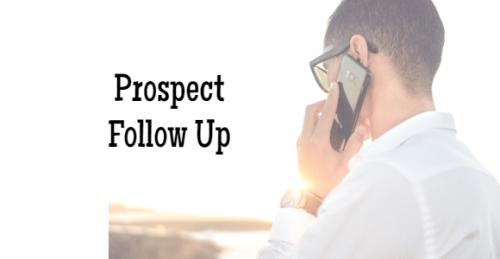 network marketing prospect